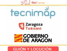 Edición y locución de vídeos turísticos de Zaragoza en Tecnimap 2010