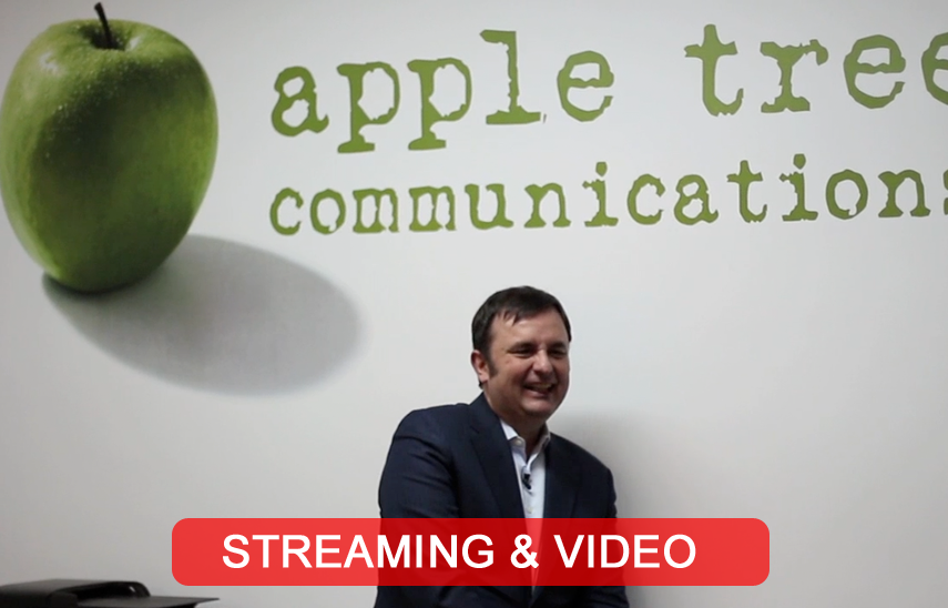 Streaming #appletreebytes para agencia Apple Tree Comms | Red Torres