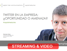 Streaming #appletreebytes Mayo con Francesc Grau