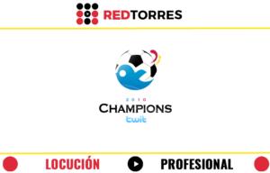 Locucion profesional REDTORRES championstwit