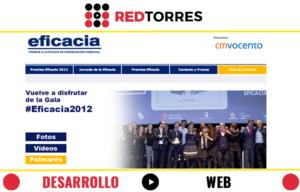 desarrollo web para Premios Eficacia 2012 | REDTORRES