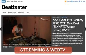 Desarrollo web TV y producción live streaming para Beattaster.com | Red Torres