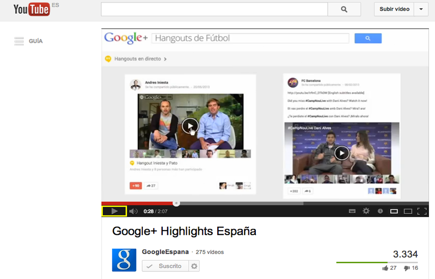 Video corporativo para Google+ España | Red Torres