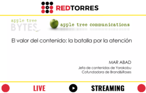 Streaming Madrid #appletreebytes con Mar Abad | REDTORRES
