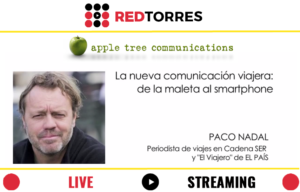 Streaming Madrid con Paco Nadal para Apple Tree | REDTORRES