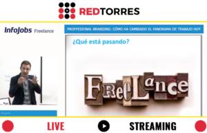 Streaming Madrid con Juan Merodio para Infojobs | REDTORRES