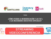 Streaming Cafe Crea V – Santillana y MashMe.TV
