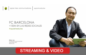 Streaming Barcelona con Didac Lee para Apple Tree | Red Torres