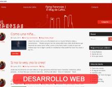 Rediseño blog personal y mantenimiento FlyingParanoias.com