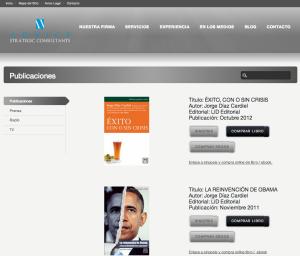 Desarrollo Web para Libros de Jorge Diaz Cardiel | Red Torres