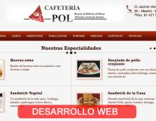 Web Cafetería Pol. Posicionamiento de marca