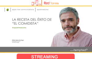 Streaming con El Comidista para Apple Tree | Red Torres