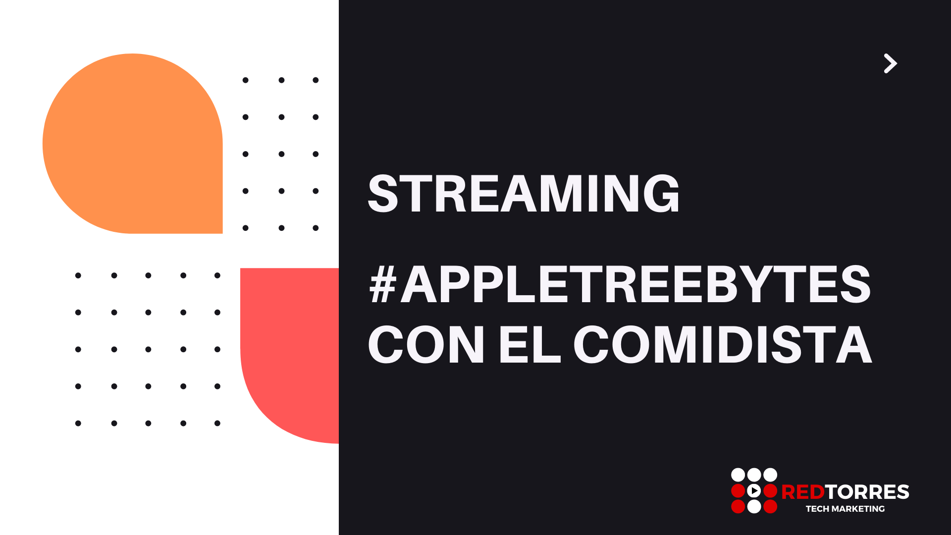 Streaming con El Comidista para Apple Tree | Red Torres