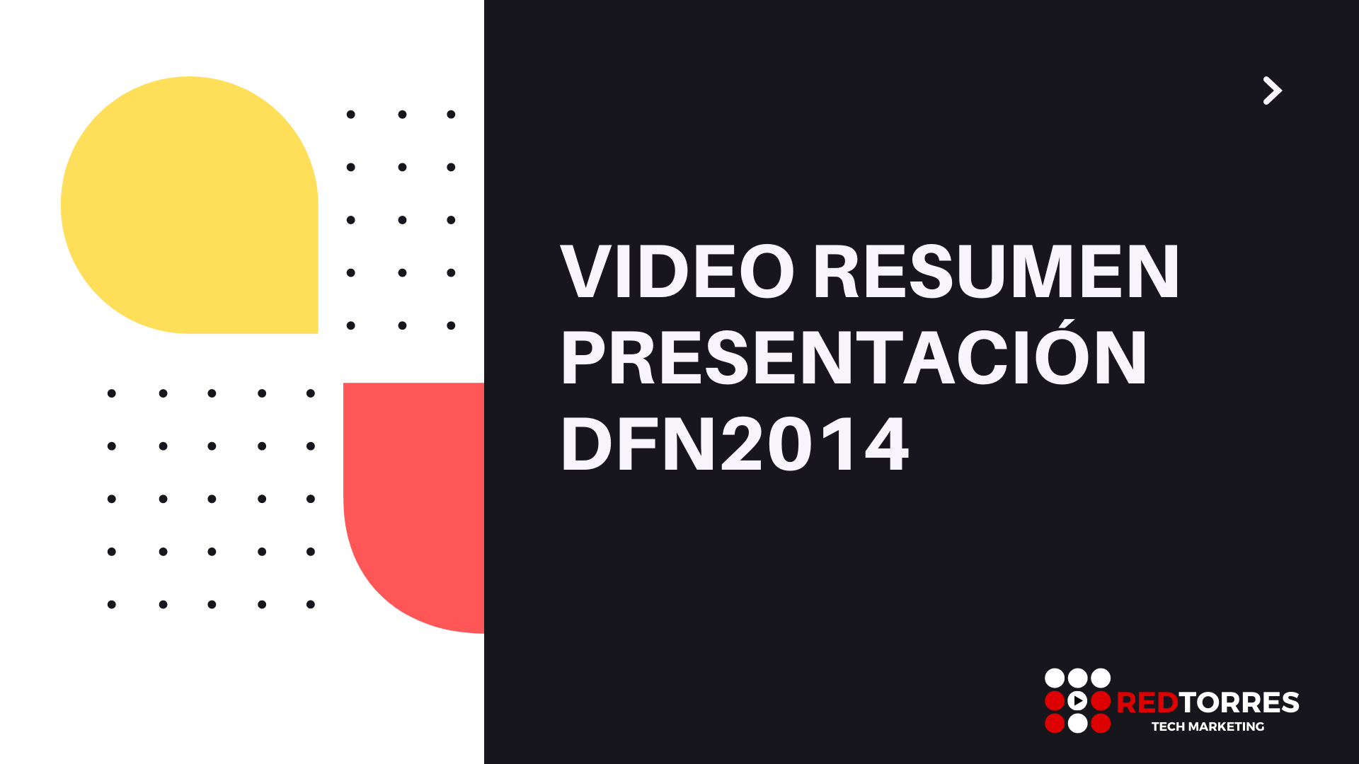 Video Resumen Eventos Madrid Presentación DFW2014 | Red Torres
