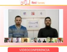 Hangout videoconferencia derbi madrileño 2012